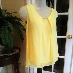 Dressy Sleeveless Blouse by NY Collection NWT 1X